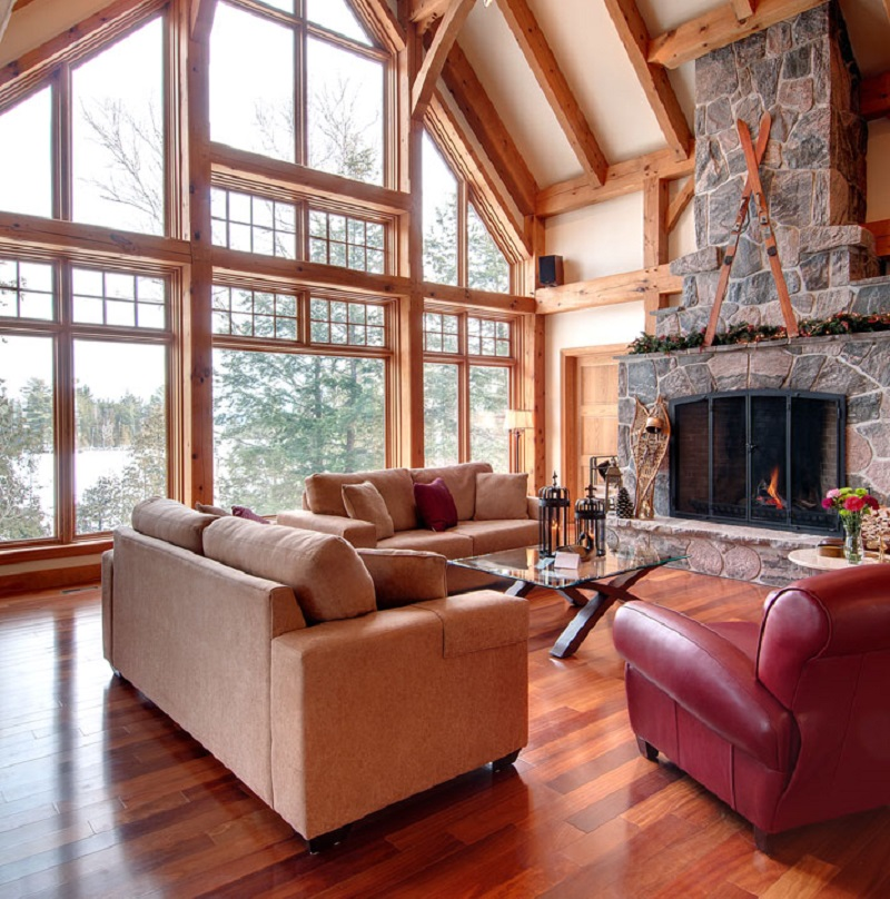 Peachy Luxury Cottage Rental Ontario Muskoka Parry Sound Chalet Interior Design Ideas Skatsoteloinfo